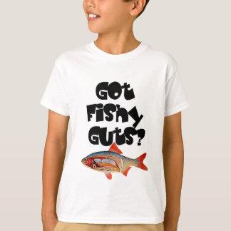 Black got fishy guts t shirt