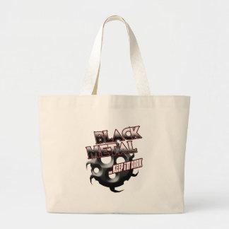 Black Metal music tshirt hat hoodie sticker poster Canvas Bag