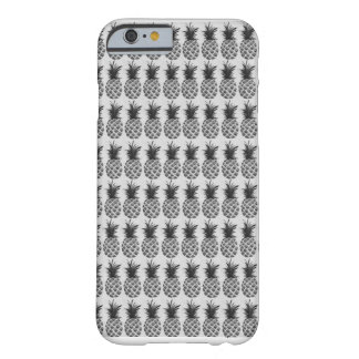 Black&white ananas barely there iPhone 6 skal