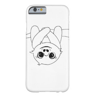 Black&white hängande sloth barely there iPhone 6 skal