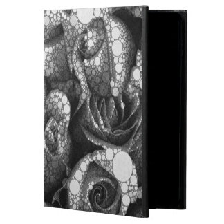 Black&White texturerade ro Powis iPad Air 2 Skal