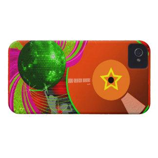 blackberry bold för klubbmusikdj täcker fodral iPhone 4 skydd