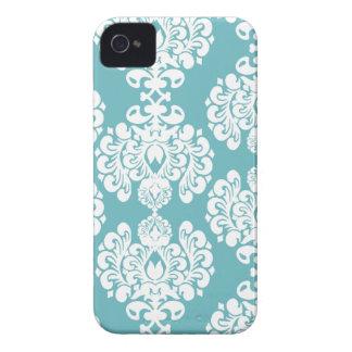 Blackberry bold för mönster för Aquablått iPhone 4 Case-Mate Cases