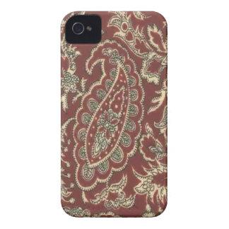 Blackberry bold för vintageranchPaisley fodral Case-Mate iPhone 4 Fodraler