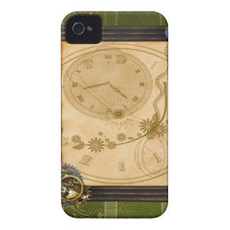 Blackberry bold för vintageSteamPunk ur Case-Mate iPhone 4 Skal