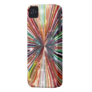 Blackberry boldfodral `` röda Cristall Flower´´ iPhone 4 Cover