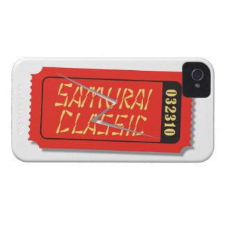 Blackberry fodral för biljett för Samuraiklassiker