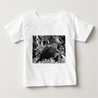Blackbird ett svartvitt tee shirts
