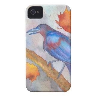 Blackbird i stormen iPhone 4 fodral