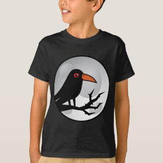 Blackbird korpsvarta/kråka Goth T-shirt
