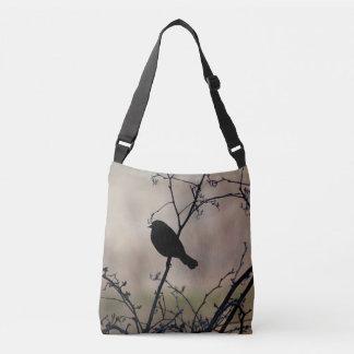 Blackbirdsilhouette Axelväska