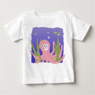 """""""Bläckfisk"""" bebisskjorta Tröjor"""