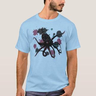Bläckfisk för djupt hav tee shirt