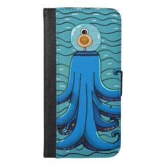 Bläckfisk iPhone 6/6s Plus Plånboksfodral
