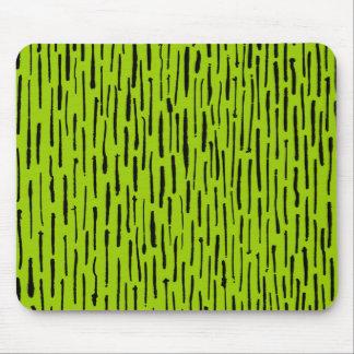 Bläckig linjer - Martian grönt Musmatta