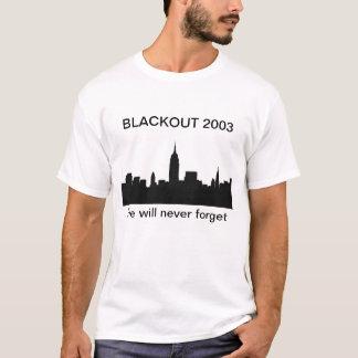 BLACKOUT 2003 TSHIRTS