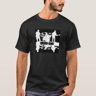 Blackout svart T T-shirt