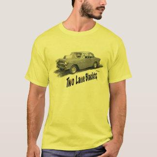 Blacktop '55 Chevy för Lane för FILMBIL två T Shirt