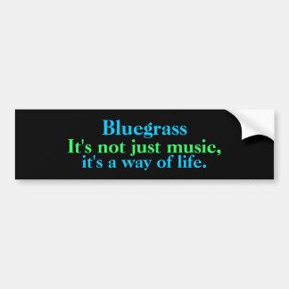 Blågräs: Inte precis musik, en livsföring Bildekal
