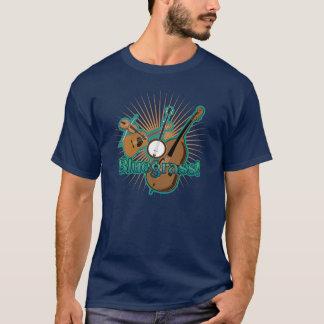 Blågräset instrumenterar tshirts