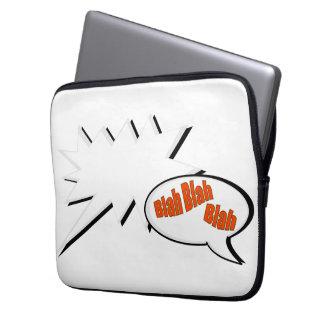 BlahBlahBlah. Laptop Sleeve