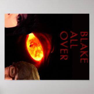 Blake All över affischen Poster