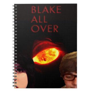 Blake All över anteckningsboken Spiralbundna Anteckningsböcker