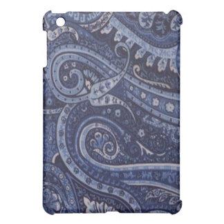 Blåklintblått Paisley iPad Mini Fodral