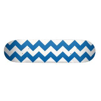 Blända blåttsparresicksack skateboard bräda 19,5 cm