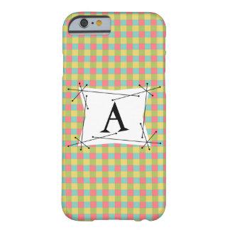 """Blända lodrät för fodral för kontroll""""Monogram"""" Barely There iPhone 6 Fodral"""