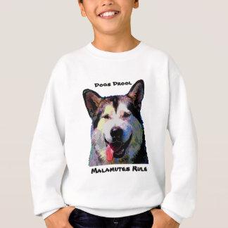 Blända pojketröja för alaskabo Malamute T-shirts