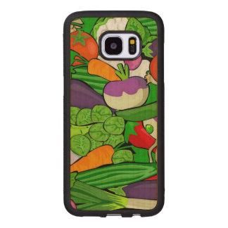 Blandade grönsaker samsung galaxy s7 edge träskal