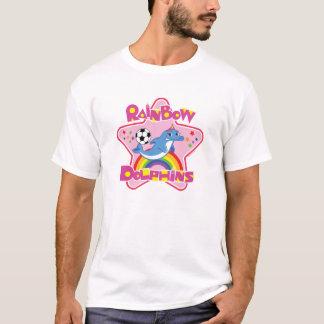 Blandade manar grundläggande T-tröja T-shirt