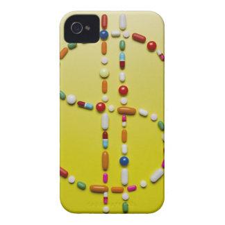 Blandade pills som skapar dollarsymbol iPhone 4 skydd