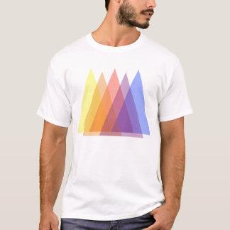 blandade trianglar tee shirts