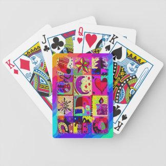 Blandningjulpynt Spelkort