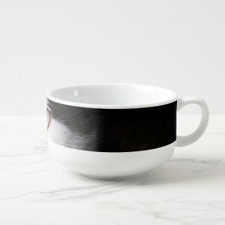 Blåögd katt stor kopp för soppa