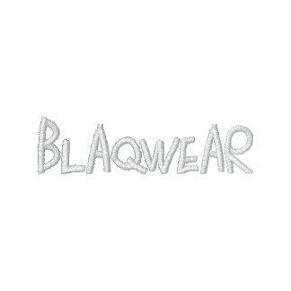 BLAQWEAR broderad skjorta Broderade Track Jacket