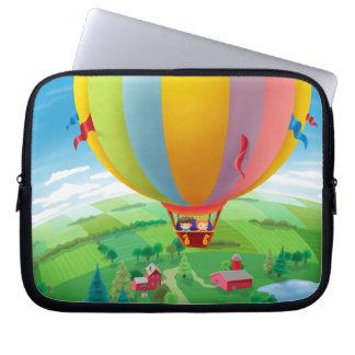Blåsa i vinden laptop sleeve
