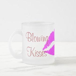 Blåsa kryddan för kärlek för bröllop för kaffe kopp