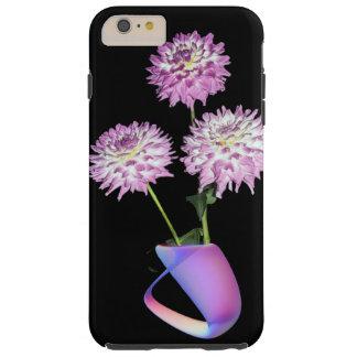 Blåst exponeringsglas och Dalhias iphone case Tough iPhone 6 Plus Fodral