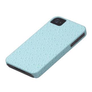 Blått bevattnar tappar den abstrakt mönsteriphone  iPhone 4 Case-Mate fodral