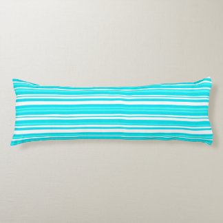 blått - borstad polyester förkroppsligar kudder kroppskudde