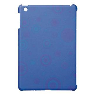 Blått bubblar blandningen iPad mini skydd