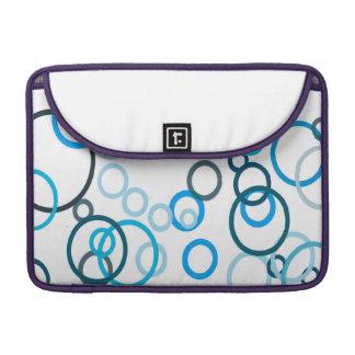Blått bubblar sleeves för MacBook pro