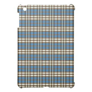 Blått-/chokladpläd Pern iPad Mini Mobil Skydd