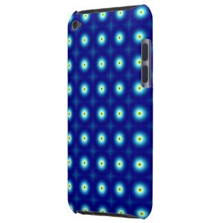 Blått cirklar det iPod handlag iPod Case-Mate Cases