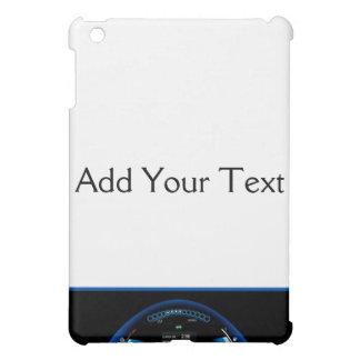 Blått Dashlight på den svart gränsen iPad Mini Skydd
