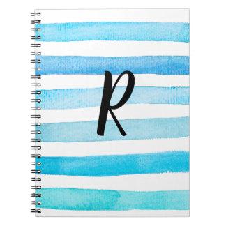 Blått för dig anteckningsbok