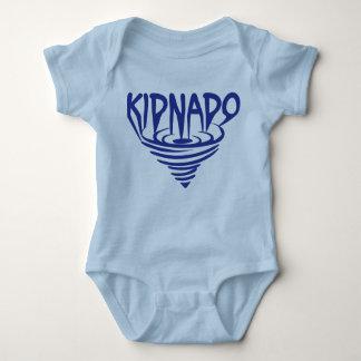 Blått för Kidnado babyBodysuit kanaliserar T Shirt